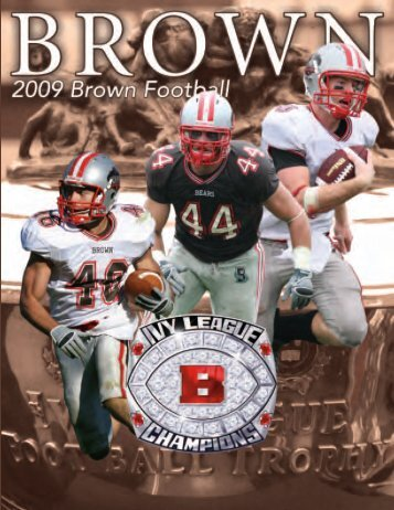 2009 Brown University Football Media Guide - College Football ...