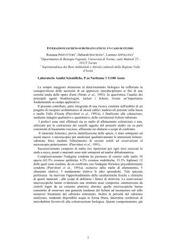 Rosanna PIERVITTORI, Deborah ISOCRONO, Lorenzo APPOLONIA