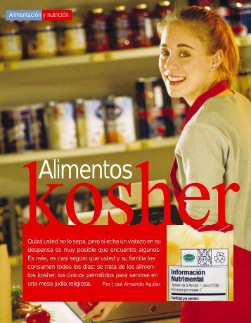 Alimentos Kosher - Profeco
