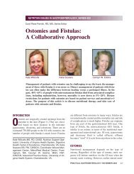 Ostomies and Fistulas: A Collaborative Approach - Medicine ...