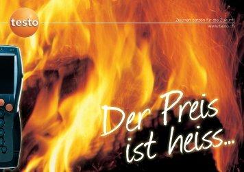 Zeichen setzen für die Zukunft www.testo.ch - Testo AG