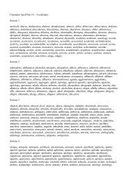 Champion Spelling List 01 - Spelling School