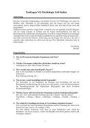 Stoiber-Ausarbeitung 2 - StV Biologie Salzburg