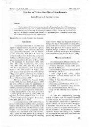 New data on Trichoceridae (Diptera) from Romania ... - Adatbank