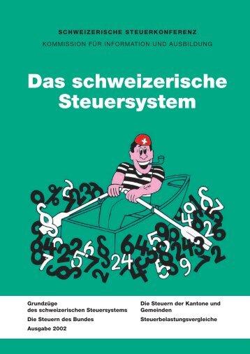Das schweizerische Steuersystem
