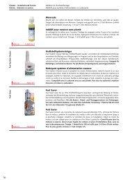 Chemie - Unterhalt und Service - Technomag AG