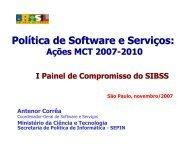 psi sw relatório técnico - Softex