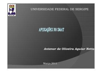 UNIVERSIDADE FEDERAL DE SERGIPE Antenor de Oliveira ...