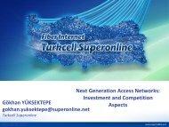 Next Generation Access Networks - Cullen International