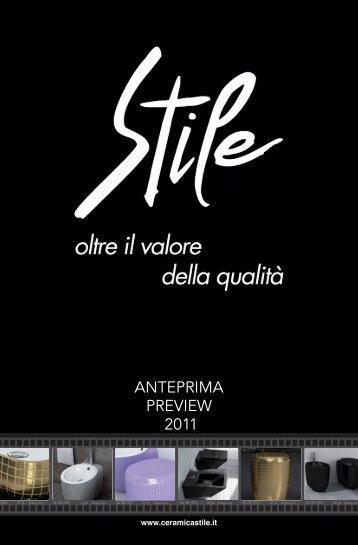 ANTEPRIMA PREVIEW 2011 - Ceramica Stile