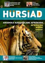 Sonbahar 2012 Dergimiz çıktı.Talep edenlere ücretsiz ... - HÜRSİAD