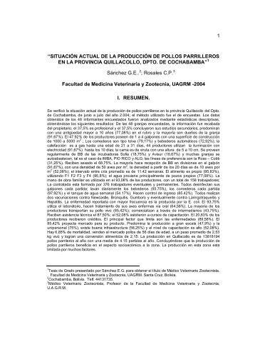 sanchez, gonzalo-201.. - Facultad de Ciencias Veterinarias - UAGRM