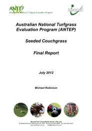 (ANTEP) Seeded Couchgrass Final Report - Australian Seed ...