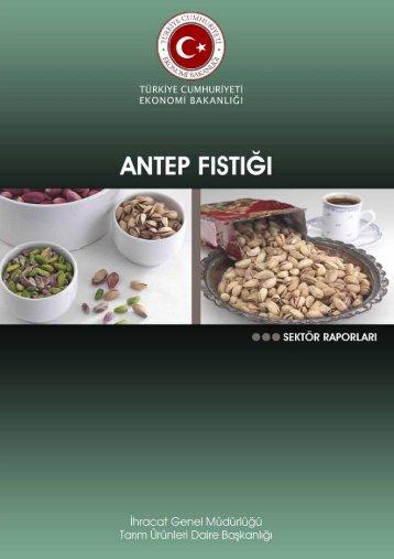 Antep Fıstığı - İhracat Bilgi Platformu