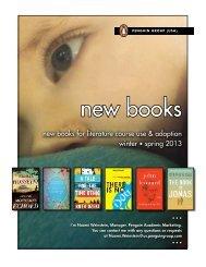 new books - Penguin Group