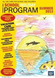 Warringah Council's School Holiday Program