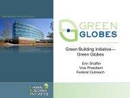 Green Building Initiative— Green Globes - E2S2