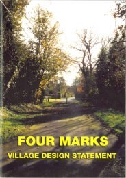 Four Marks Village Design Statement.pdf - East Hampshire District ...