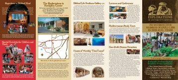 The Explorations in Antiquity Center