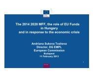 Andriana Sukova-Tosheva - Center for EU Enlargement Studies ...