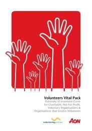 Volunteers Vital Pack - Volunteering Australia
