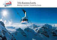 Titlis Business Events.
