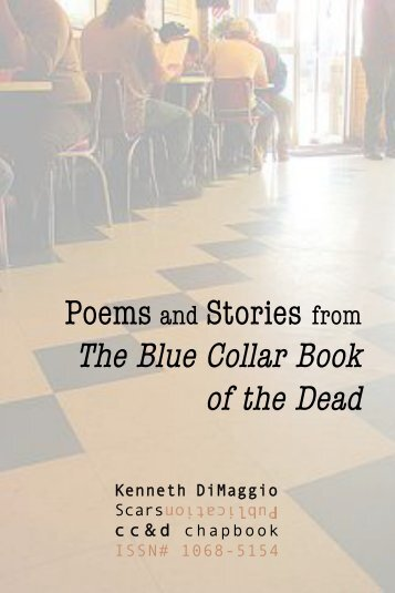 Poems and Stories from The Blue Collar Book - Scars Publications