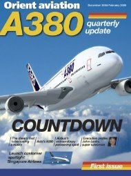 A380: the countdown is on - Orient Aviation