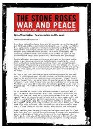 Geno Washington, Soul sensation and life coach ... - The Stone Roses