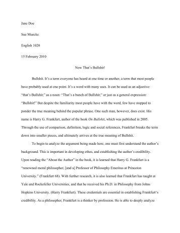 Rhetorical Analysis Essay Sample Pdf - Essay For You