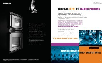 Cocktails palaces - ARSANDAUX Olivier - Free