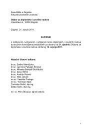 Datoteka - Fakultet prometnih znanosti - Sveučilište u Zagrebu