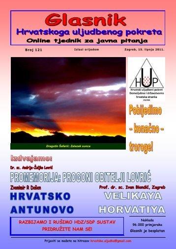 1) PROMEMORIJA: progonitelji obitelji LOVRIĆ 2) Dragutin Šafarić