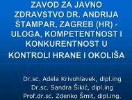 zavod za javno zdravstvo dr. andrija štampar, zagreb (hr)