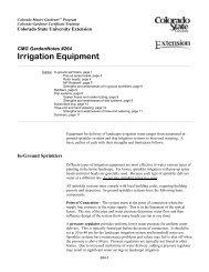 264, Irrigation Equipment - Colorado Master Gardener Program ...