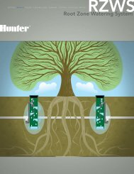 ROOT ZONE WATERING SYSTEM Brochure - Hunter Industries