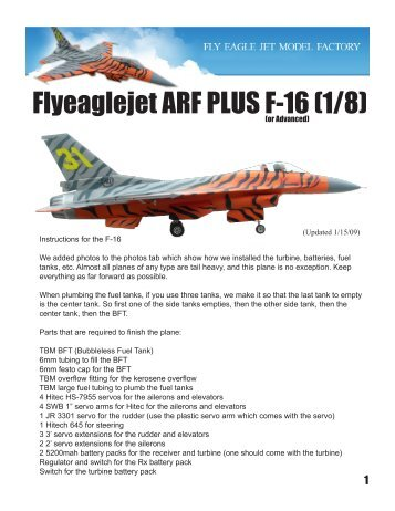 Pilot rc yak54 general install manualpdf troy built models flyeaglejet arf plus f 16 18 troy built models fandeluxe Image collections