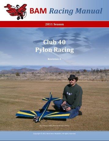 BAM Club-40 Pylon Racing Manual - RC FlightDeck