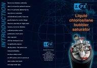 Bubbler brochure - LPE Spa
