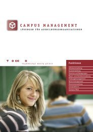 Campus Management - Tocco AG