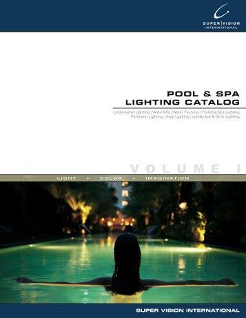 Pool & Spa Lighting Catalog | Nexxus Lighting [PDF] - Olympic Pools