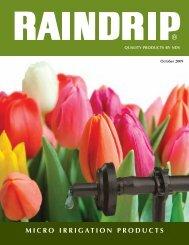 Raindrip Product Catalog - Builder Depot