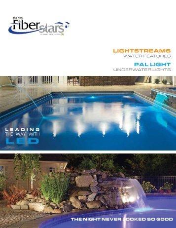 LIGHTSTREAMS PAL LIGHT - Fiberstars Pool and Spa