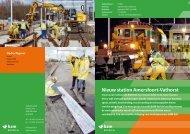 Projectblad Nieuw station Amersfoort-Vathorst - BAM Rail