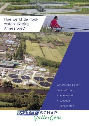 Hoe werkt de riool- waterzuivering Amersfoort? - De Eem