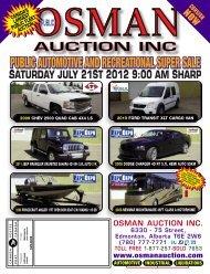 OsmanMar2007 AUTO - Osman Auctions Inc