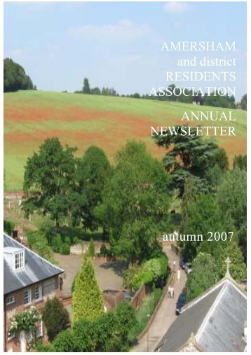 to Download 2007 ADRA Newsletter - Amersham