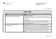 FAQ's AVG - Treffpunkt-Arbeit