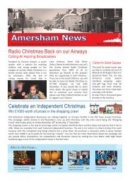 Amersham Matters Newsletter Winter 2012.pub - Amersham Town ...