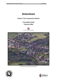 Amersham - Buckinghamshire County Council